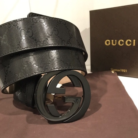 ce42a7a8d26e Gucci Accessories | Authentic Belt Comes With Box And Dust Bag ...